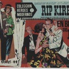 Cómics: HÉROES MODERNOS SERIE C Nº 15. RIP KIRBY.. Lote 20169061