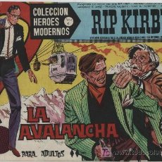Cómics: HÉROES MODERNOS SERIE C. Nº 16. RIP KIRBY.. Lote 20228246