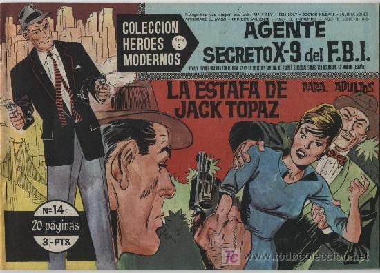 HÉROES MODERNOS SERIE C. Nº 14. RIP KIRBY. (Tebeos y Comics - Buru-Lan - Rip Kirby)