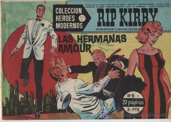 HÉROES MODERNOS SERIE C. Nº 5. RIP KIRBY. (Tebeos y Comics - Buru-Lan - Rip Kirby)