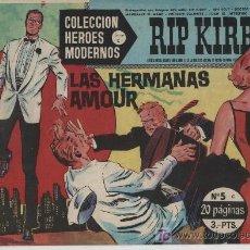 Cómics: HÉROES MODERNOS SERIE C. Nº 5. RIP KIRBY.. Lote 20228822