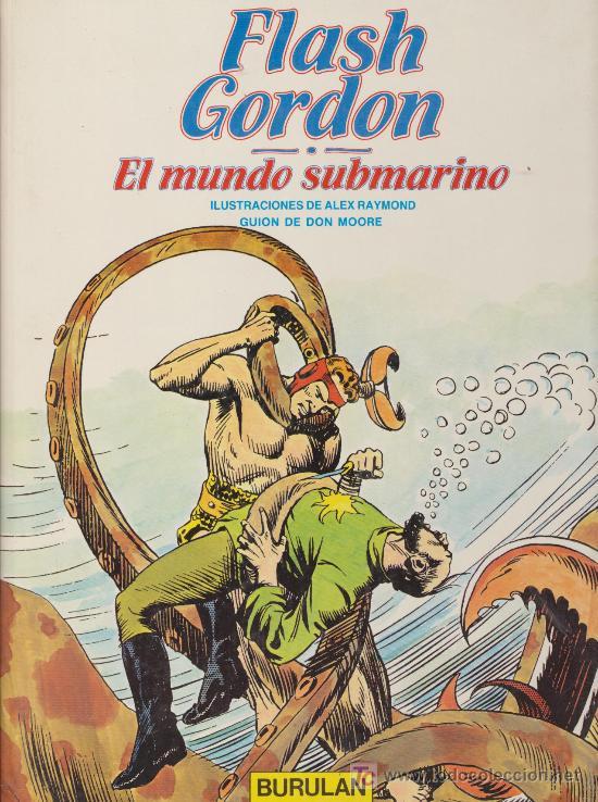 FLASH GORDON VOLUMEN 5. BURULAN. (Tebeos y Comics - Buru-Lan - Flash Gordon)