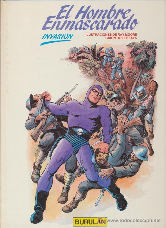 EL HOMBRE ENMASCARADO Nº 2. BURULAN. (Tebeos y Comics - Buru-Lan - Hombre Enmascarado)
