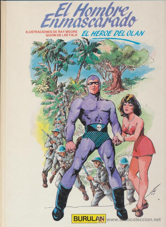 EL HOMBRE ENMASCARADO Nº 3. BURULAN. (Tebeos y Comics - Buru-Lan - Hombre Enmascarado)