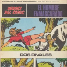 Cómics: EL HOMBRE ENMASCARADO Nº 43. HÉROES DEL COMIC. BURU LAN 1971.. Lote 20692147
