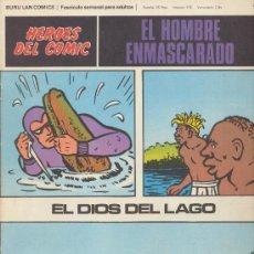 Cómics: EL HOMBRE ENMASCARADO Nº 41. HÉROES DEL COMIC. BURU LAN 1971.. Lote 20692179