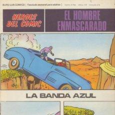 Cómics: EL HOMBRE ENMASCARADO Nº 40. HÉROES DEL COMIC. BURU LAN 1971.. Lote 20692215