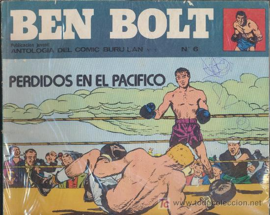 BEN BOLT Nº 6. BURU LAN. (Tebeos y Comics - Buru-Lan - Otros)