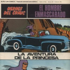 Cómics: EL HOMBRE ENMASCARADO Nº 59. HÉROES DEL COMIC. BURU LAN 1971.. Lote 20706634