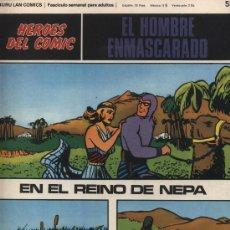 Cómics: EL HOMBRE ENMASCARADO Nº 55. HÉROES DEL COMIC. BURU LAN 1971.. Lote 20706739