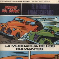 Cómics: EL HOMBRE ENMASCARADO Nº 51. HÉROES DEL COMIC. BURU LAN 1971.. Lote 20706858