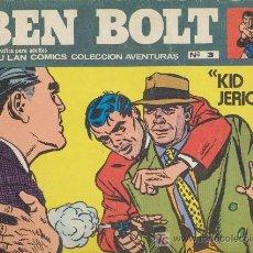 Cómics: BEN BOLT Nº 3. BURU LAN 1973.. Lote 20738838