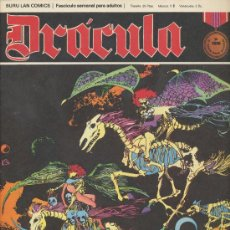 Cómics: DRÁCULA Nº 14. BURU LAN 1972.. Lote 20852214