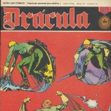 Cómics: DRÁCULA Nº 13. BURU LAN 1972. ¡IMPECABLE!. Lote 20852227