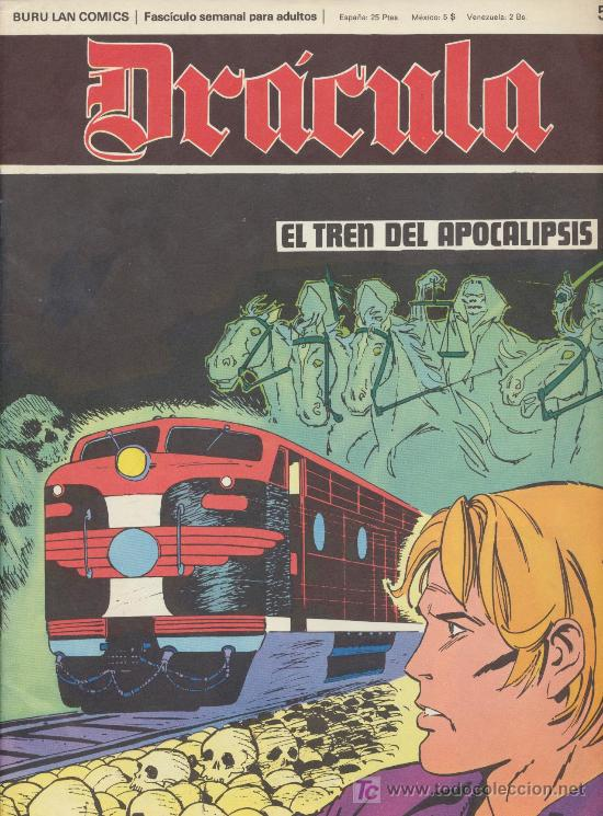 DRÁCULA Nº 52. BURU LAN 1972. (Tebeos y Comics - Buru-Lan - Otros)