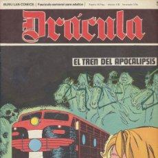 Cómics: DRÁCULA Nº 52. BURU LAN 1972.. Lote 20852450