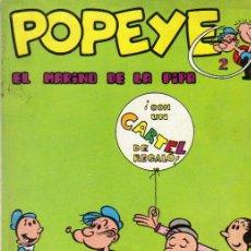 Cómics: POPEYE Nº 2 - BIBLIOTECA BURU LAN POPEYE AÑO 1970. Lote 51641713