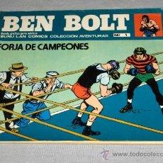 Cómics: BEN BOLT Nº 1 FORJA DE CAMPEONES. BURU LAN 1973. 25 PTS. BUEN ESTADO. REGALO Nº 2.. Lote 21335529