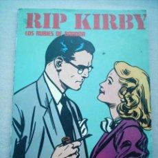 Cómics: RIP KIRBY LOS RUBIES DE BANDAR / BURU LAN BURULAN 1974. Lote 23142630