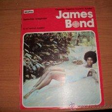 Cómics: JAMES BOND EL OCTOPODO ASESINO ( ALBUM Nº 4 DE 120 PAGINAS ). EDITORIAL BURU LAN 1974. Lote 23222500