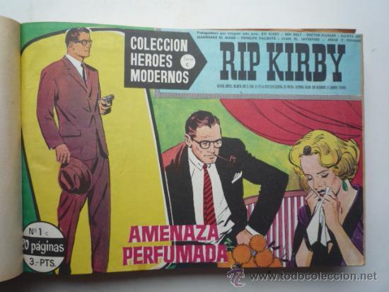 Cómics: Coleccion heroes modernos - RIP KIRBY, serie C, encuadernado del nº 1 al nº 30. ver fotos. - Foto 2 - 21567706