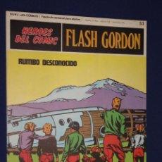 Cómics: FLASH GORDON Nº 53 - HEROES DEL COMIC - BURU LAN. Lote 21689336