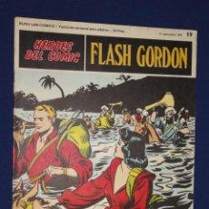 Cómics: FLASH GORDON Nº19 - HEROES DEL COMIC - BURU LAN. Lote 21689423