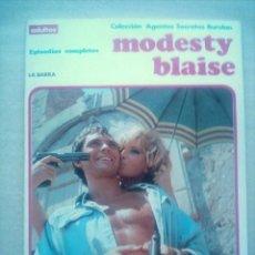 Cómics: MODESTY BLAISE LA BARRA / BURU LAN BURULAN 1974. Lote 22065610