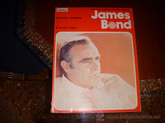 JAMES BOND, EL RIO DE LA MUERTE , RÚSTICA, EPISODIOS COMPLETOS, EDITORIAL BURULAN (Tebeos y Comics - Buru-Lan - James Bond)