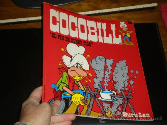COCOBILL. EL FIN DE EVERY MAD. SERIE HEROES DE PAPEL NUM. 13. EDIT. BURU-LAN. 1974. (Tebeos y Comics - Buru-Lan - Otros)