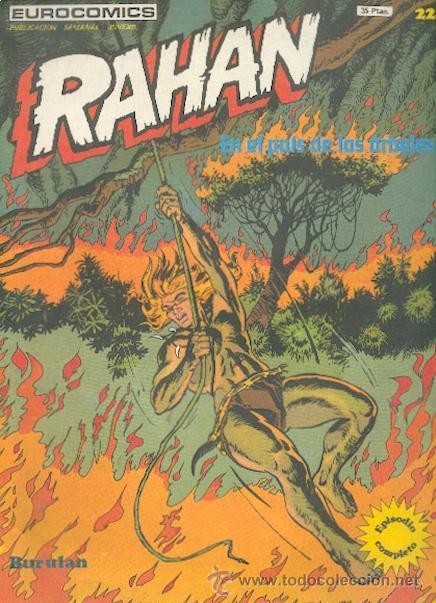 RAHAN Nº 22, EDITORIAL BURULAN (Tebeos y Comics - Buru-Lan - Rahan)