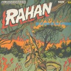 Cómics: RAHAN Nº 22, EDITORIAL BURULAN. Lote 26716405