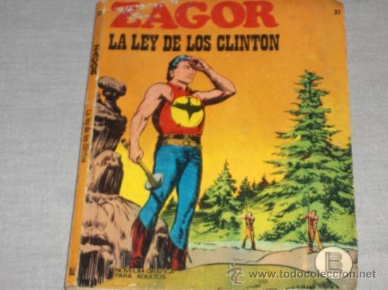 ZAGOR Nº 31. BURU LAN 1972. 25 PTS. DIFÍCIL!!!!!!!!! (Tebeos y Comics - Buru-Lan - Zagor)