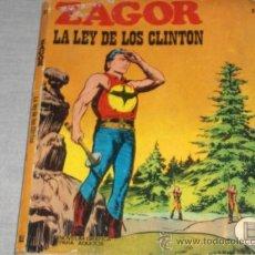 Cómics: ZAGOR Nº 31. BURU LAN 1972. 25 PTS. DIFÍCIL!!!!!!!!!. Lote 23014807