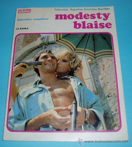 LA BARRA. COLECCIÓN AGENTES SECRETOS BURULAN. MODESTY BLAISE. EPISODIOS COMPLETOS (Tebeos y Comics - Buru-Lan - Modesty Blaise)