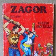 Cómics: COMIC, ZAGOR, CUERVO AMARILLO, Nº 4, BURU, . Lote 23606977