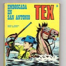 Cómics: (M-1) TEX NUM 36 EMBOSCADA EN SAN ANTONIO, BURU LAN EDICIONES - SEÑALES DE USO. Lote 23384253