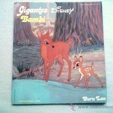 Cómics: BAMBI / GIGANTES DISNEY / HISTORIAS MARAVILLOSAS Nº 12 BURU LAN BURULAN 1973. Lote 26883508