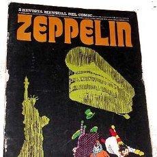 Cómics: ZEPPELIN Nº 2 - ED.BURU LAN 15/10/1973. Lote 24928459