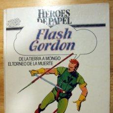 Cómics: FLASH GORDON. HEROES DE PAPEL. BURULAN.. Lote 26549619