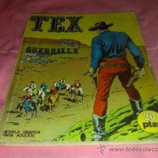 Cómics: COMIC DE TEX , BURU LAN Nº 6 ¡ PRIMERA EDICIÓN ¡ GUERRILLA ¡. Lote 27405127