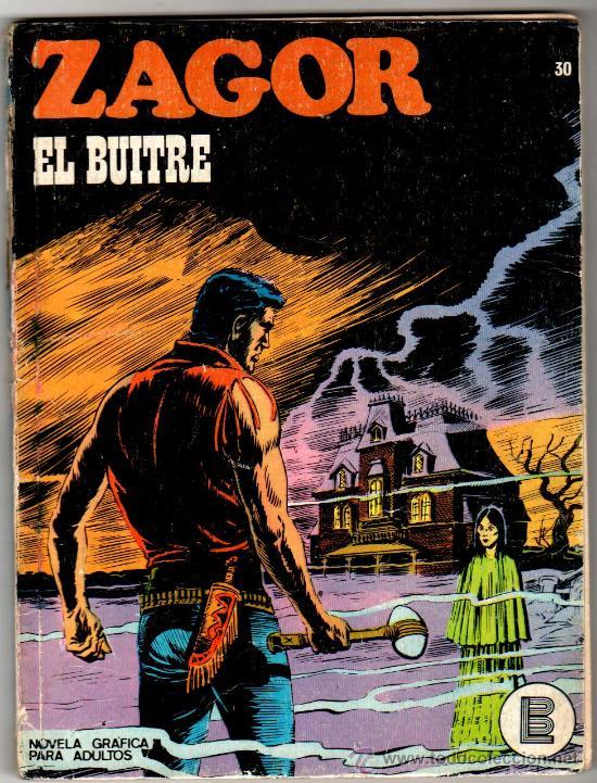 ZAGOR Nº 30 EDITORIAL BURULAN 1972, 96 PAGINAS (Tebeos y Comics - Buru-Lan - Zagor)
