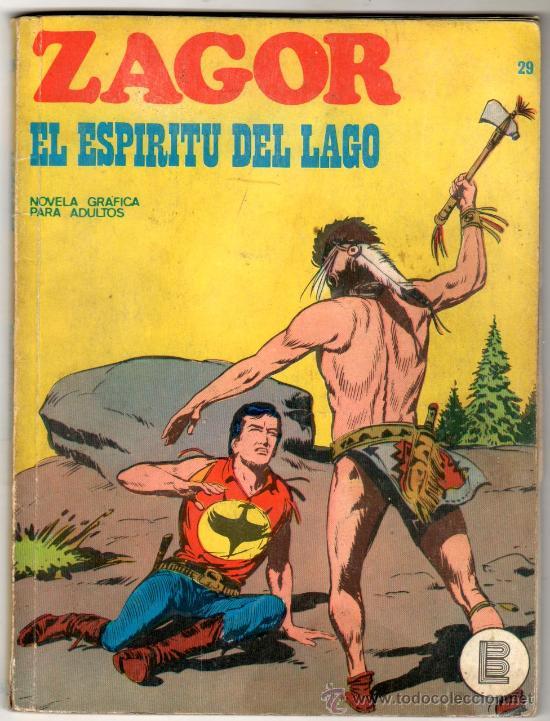 ZAGOR Nº 29 EDITORIAL BURULAN 1972, 96 PAGINAS (Tebeos y Comics - Buru-Lan - Zagor)
