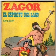 Cómics: ZAGOR Nº 29 EDITORIAL BURULAN 1972, 96 PAGINAS. Lote 24252773