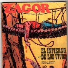 Cómics: ZAGOR Nº 27 EDITORIAL BURULAN 1972, 96 PAGINAS. Lote 24252803