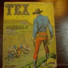 Cómics: TEX, BURULAN, GUERRILLA. Lote 24587513