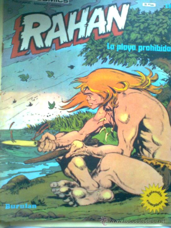 RAHAN Nº 18 (Tebeos y Comics - Buru-Lan - Rahan)