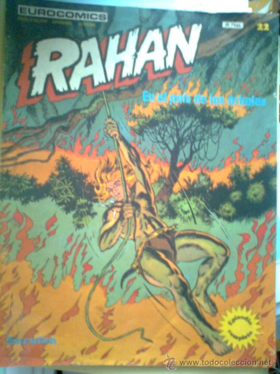 RAHAN Nº 22 (Tebeos y Comics - Buru-Lan - Rahan)