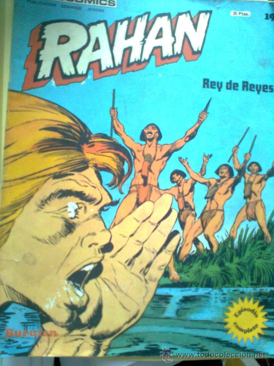 RAHAN Nº 19 (Tebeos y Comics - Buru-Lan - Rahan)