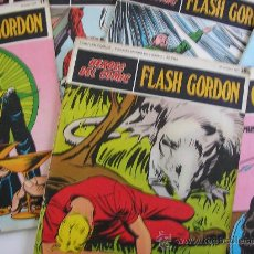 Cómics: FLASH GORDON. BURULAN. LOTE DE 7 EJEMPLARES. Lote 24969952